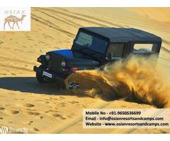 Desert Jeep Safari in Osian