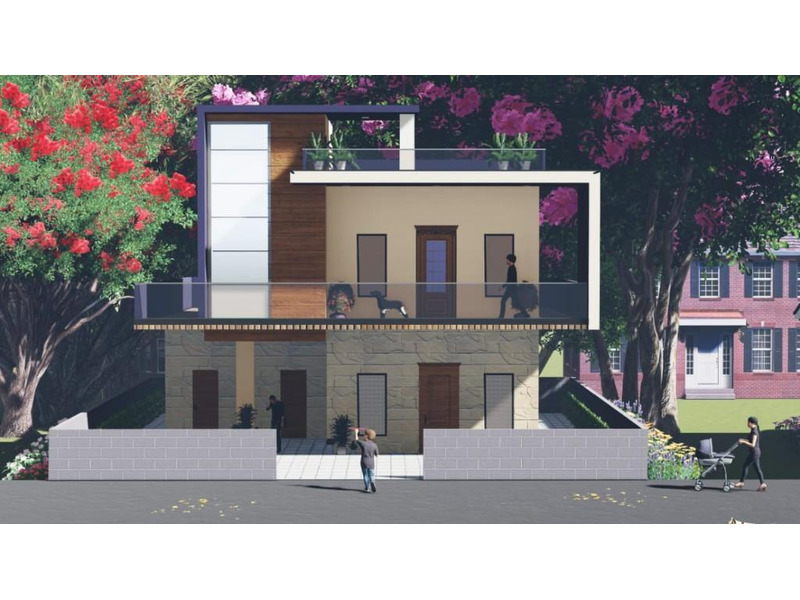 Architecture 3D visualisations and 3D interior design in lucknow. - 2