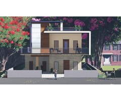 Architecture 3D visualisations and 3D interior design in lucknow. - Image 2