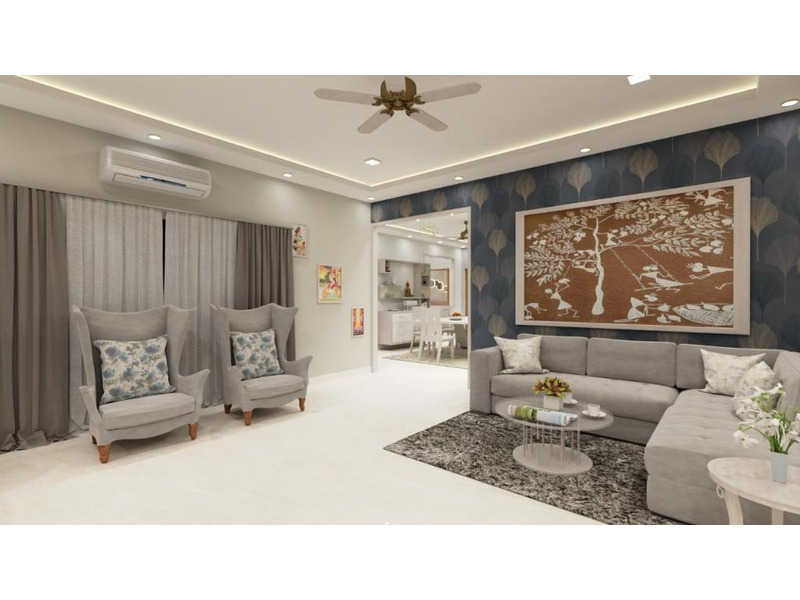 Architecture 3D visualisations and 3D interior design in lucknow. - 5