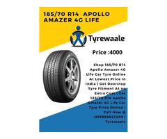 185/70 R14 Apollo Amazer 4G Life Car Tyre Price | Tyrewaal