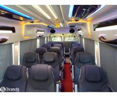 MUMBAI AIRPORT TO MAHABALESHWAR - HIRE BUS ON RENT BY PARADISE