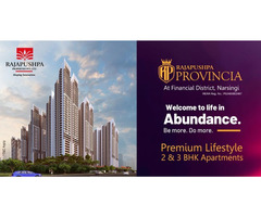 Premium Lifestyle 2 & 3 BHK Apartments at - Rajapushpa Provincia
