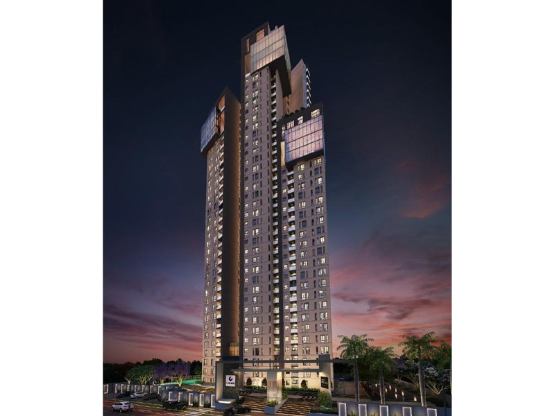 3 Bedroom flats are available for sale in Hosur Main Road - 3 BR, 1876 ft² - 4