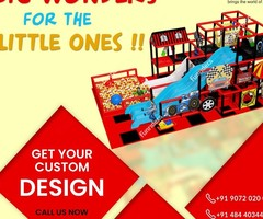 Indoor and Outdoor play equipment suppliers and manufacturer.