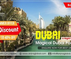 Best Dubai DMC from India at the amazing price - Galaxy Tourism