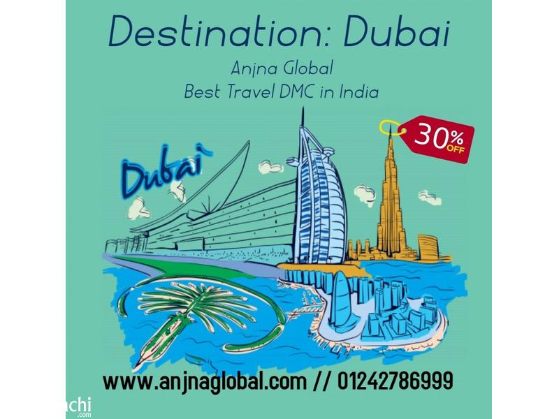 Dubai Tour packages @ Discount Rates | Book Today | Anjna Global - 1