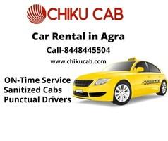 Get Car Rental in Agra