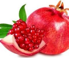 Farm Fresh Organic Pomegranate Fruit 4 Piece's   2 Hour Delivery