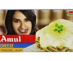 Amul Fresh Cheese 200 grams Pouch online price shopping