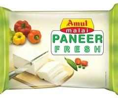 Amul Malai Fresh Paneer nutrition 200 Gram Block Pouch Online price