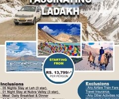 Leh Ladakh Tour Package with 6 Nights Stay