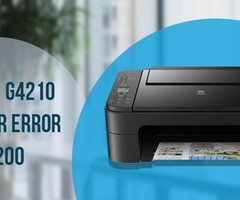 How to Fix Canon G4210 Printer Error Code 5200?