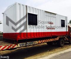 1 BR, 400 ft² – Portable Site Office Cabins