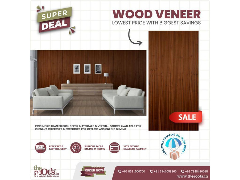 Buy Wood Veneer Sheets Online at Best Price - 1