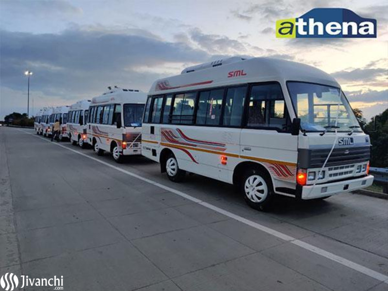 Office Pickup & Drop Services for Corporates - Athena Travels - 1