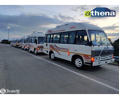 Office Pickup & Drop Services for Corporates - Athena Travels