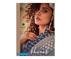 PURE VISCOSE READY MADE DRESS KALKI KHWAAB WHOLESALE