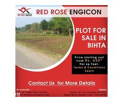 RED ROSE ENGICON OFFERING PLOTS IN BIHTA